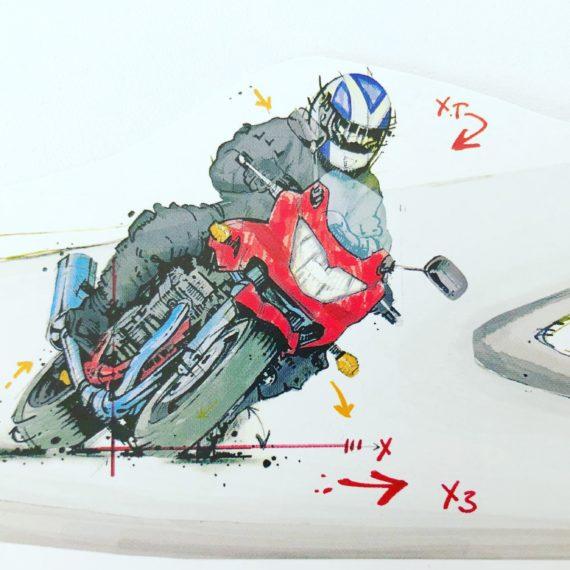 """""""Motorrad Theorie"""" am Freitag 18.10. 18 Uhr in Fraulautern"""